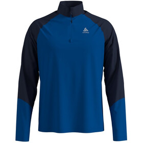 Odlo Planches Half Zip Midlayer Men energy blue/diving navy